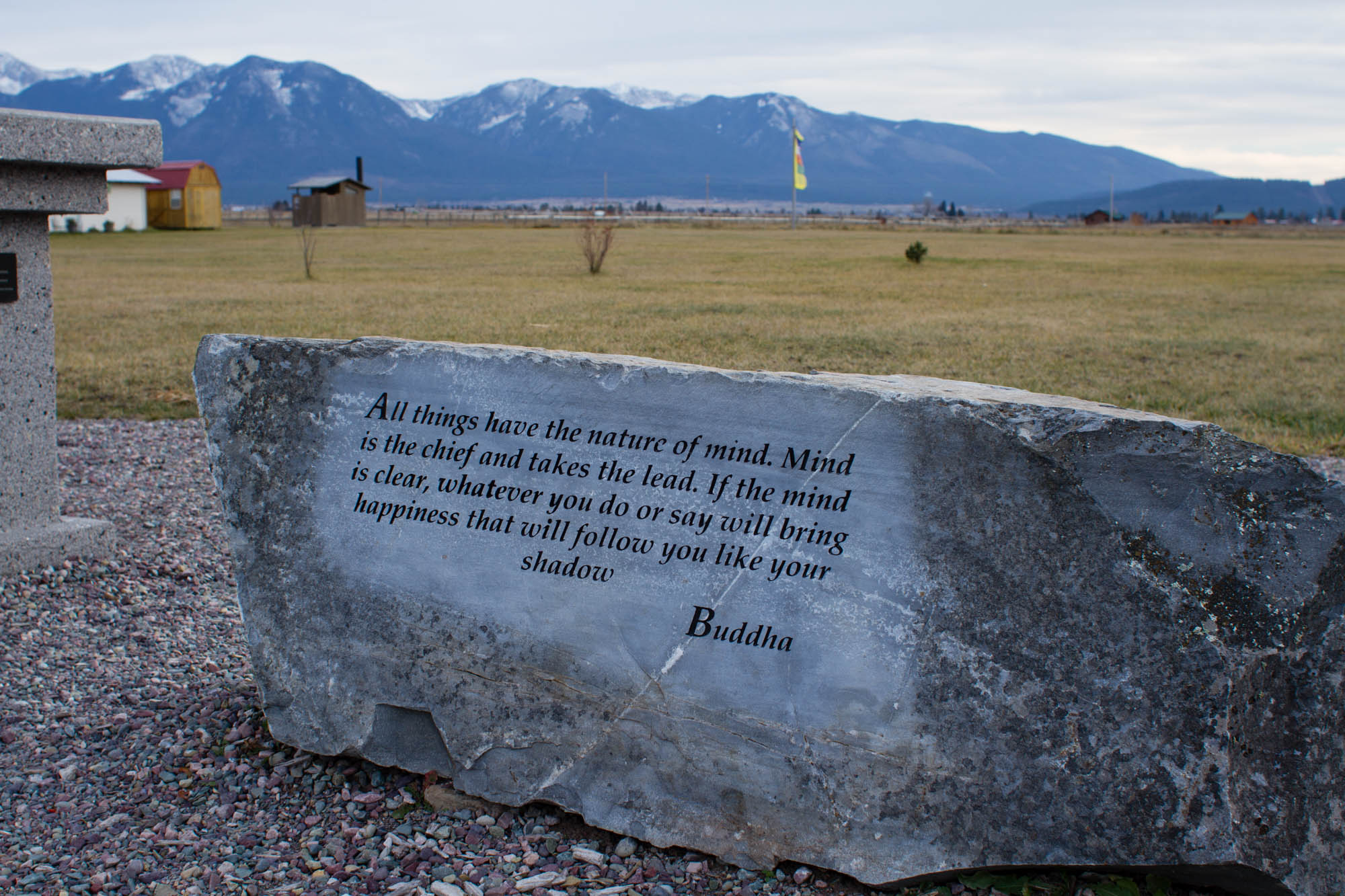 Week of Zen Quote - Garden of One Thousand Buddhas Montana